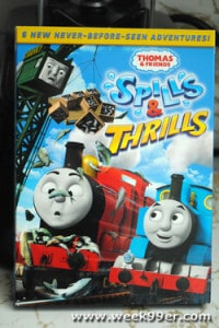 Thomas and Friends Spills and Chills Reviews and Giveaway!