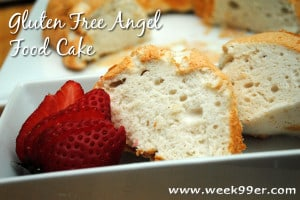 Gluten Free Angel Food Cake Recipe!