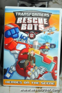 Transformers Rescue Bots: Heroes on the Scene -Five New Episodes of Fun!