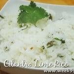 Easy Cilantro Lime Rice Recipe