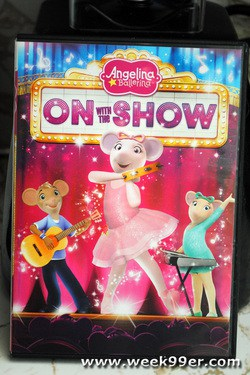 Angelina Ballerina On with the Show Review