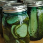 Homemade Garlic Dill Pickles Canning Recipe