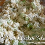 Clean Eating – Left Over Chicken Salad Recipe
