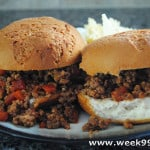 Easy Sloppy Joes with Red Gold Tomatoes #RGParty #RedGoldRecipes