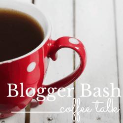 blogger bash coffee talk