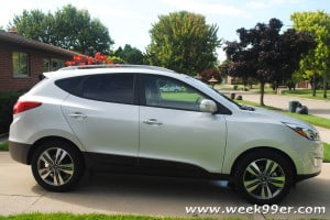 The 2014 Hyundai Tuscon – A Fun Crossover for the Family