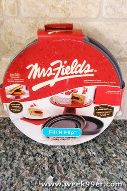Mrs Fields Flip and Fill Pan Review