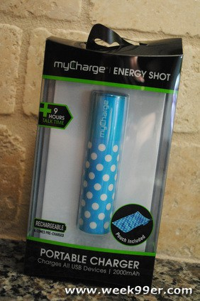 My Charge Energy Shot Review