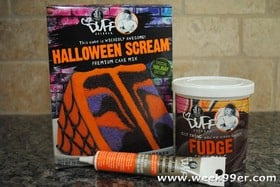 duff goldman products sent me their halloween scream cake mix and i thought id treat my students to a little treat during their finals week