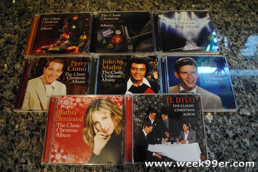 sony legacy christmas cds