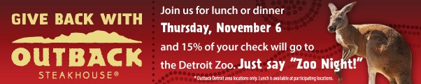 Detroit Zoo Give Back Event
