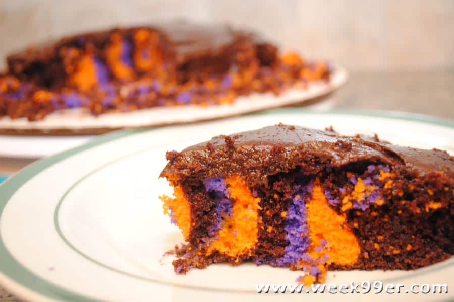 Halloween cake review