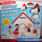 Snoopy Sno-Cone Maker Giveaway! #cbxmas #Christmascountdown