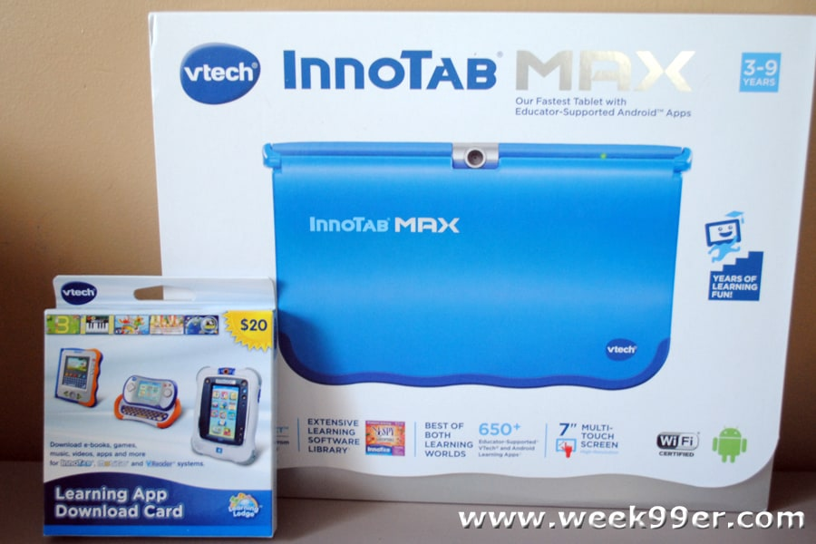 VTech Innotab Max Review   Giveaway! e48122b5afed2