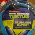 Teenage Mutant Ninja Turtle Volume-Limiting Headphones – Let them Listen in Style #Christmascountdown