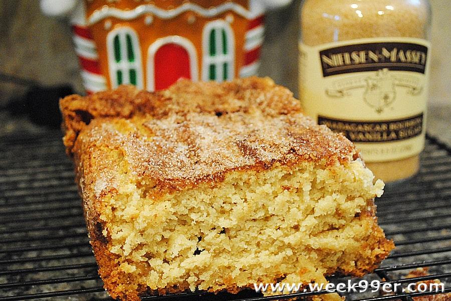 vanilla cinnamon sugar bread recipe