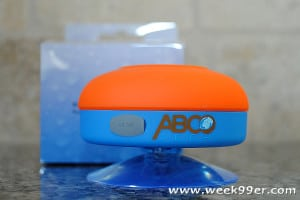 Abco Tech Water Resistant Shower Speaker – Take Your Music Anywhere! #Christmascountdown