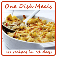 One Dish Meals Recipes