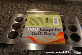 bbq jalapeno grill rack review