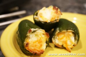 Oven Baked Jalapeno Poppers
