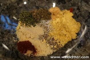 Mustard Chicken Rub Recipe