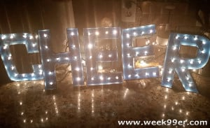 DIY Marquee Letters – Great for the Holidays or Gifts!