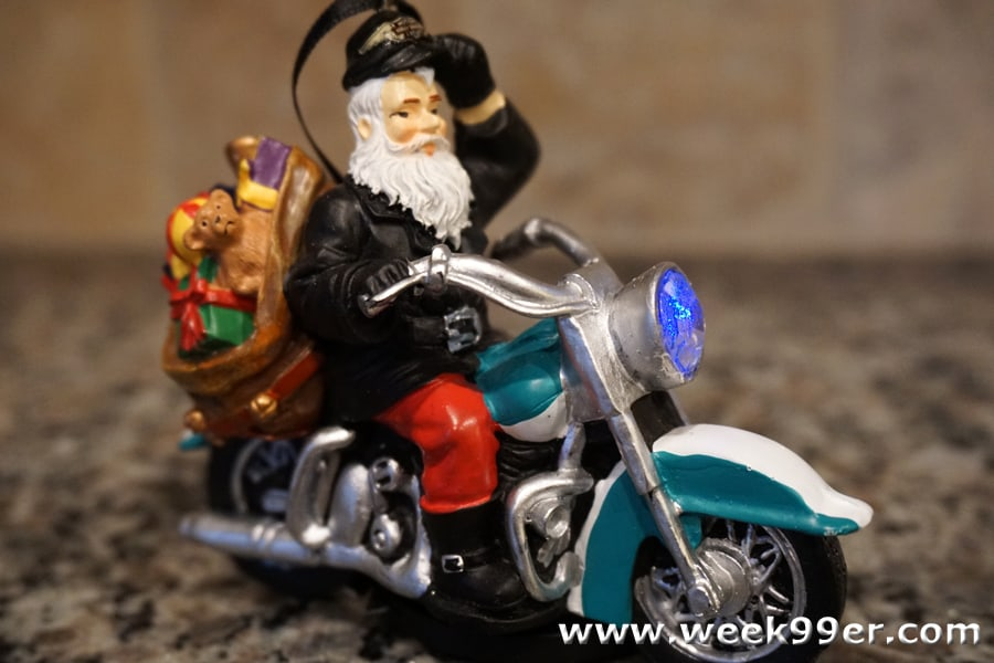 Harley Biker Santa Ornament Review