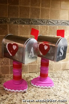Diy Valentine S Mailbox Decorations