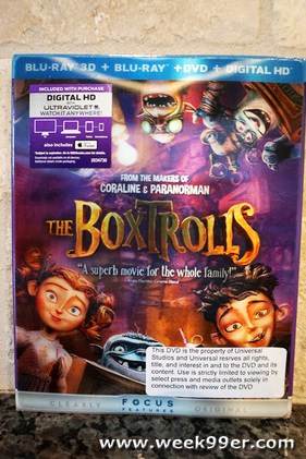 Boxtrolls on Blu-Ray