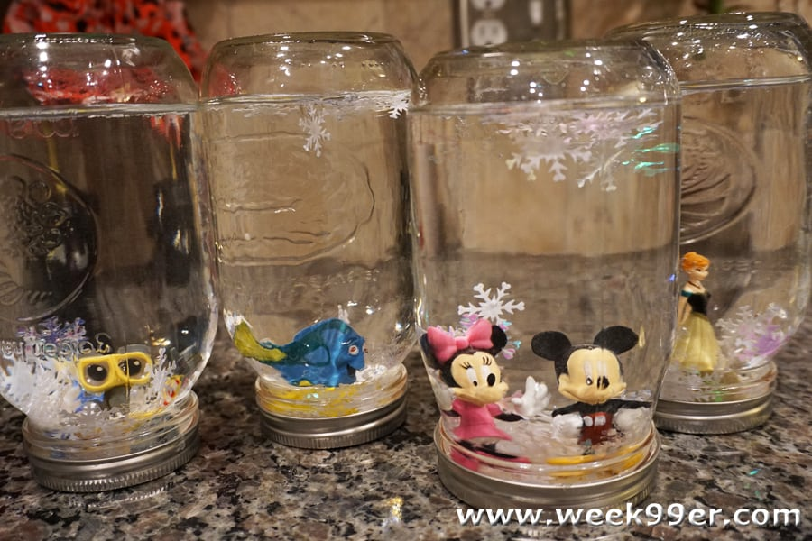 DIY Disney Snow globes