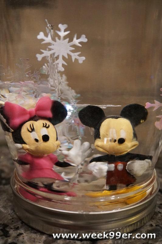DIY Disney Snowglobe