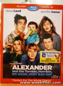 Disney brings Alexander and the Terrible, Horrible, No Good, Very Bad Day to DVD and Blu-Ray!