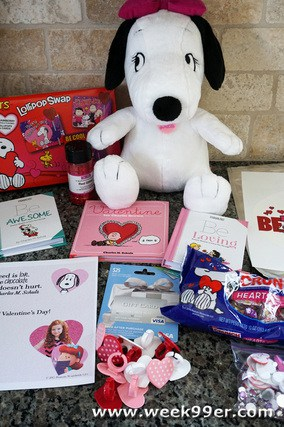 Snoopy's Valentine's Giveaway