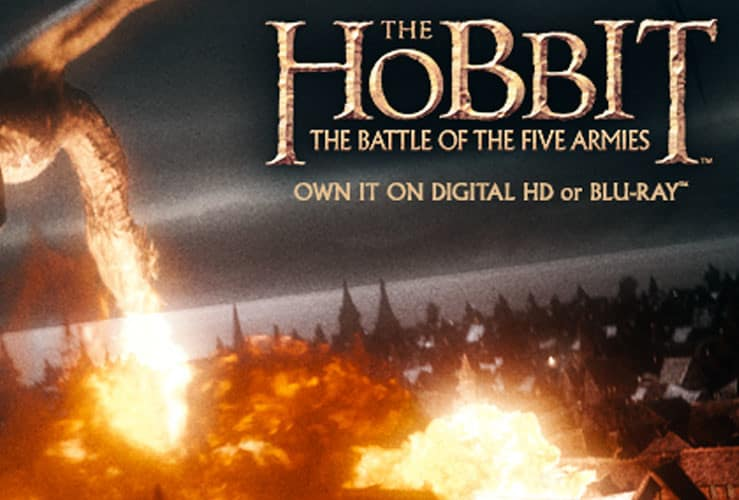 The Battle of The Five Armies Blu-ray Giveaway! #Thehobbit