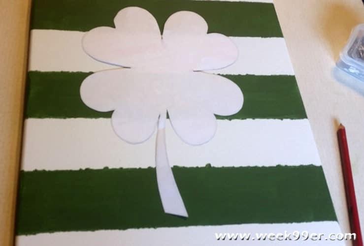 St Patricks Day Tack Art