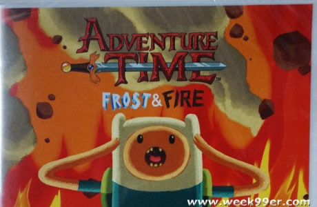 adventure time frost and fire review