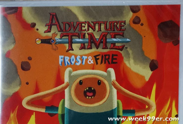Adventure Time – Frost & Fire Now on DVD
