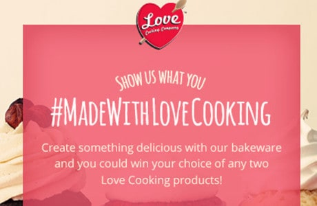 love cooking made with love contest