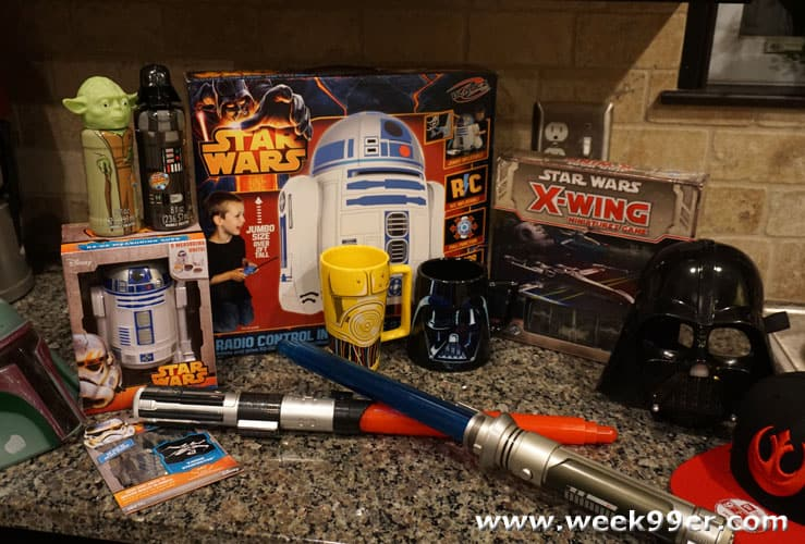 star wars goodie box unboxing