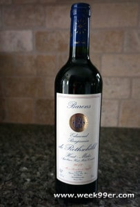 BARONS EDMOND BENJAMIN ROTHSCHILD Haut-Medoc Review