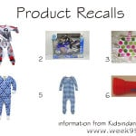 Children's Toy and Clothing Recalls!