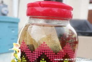 Honey Sun Tea Recipe