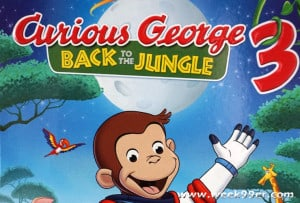 Curious George Goes Back to the Jungle and DVD!
