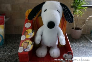 dancing snoopy toy review