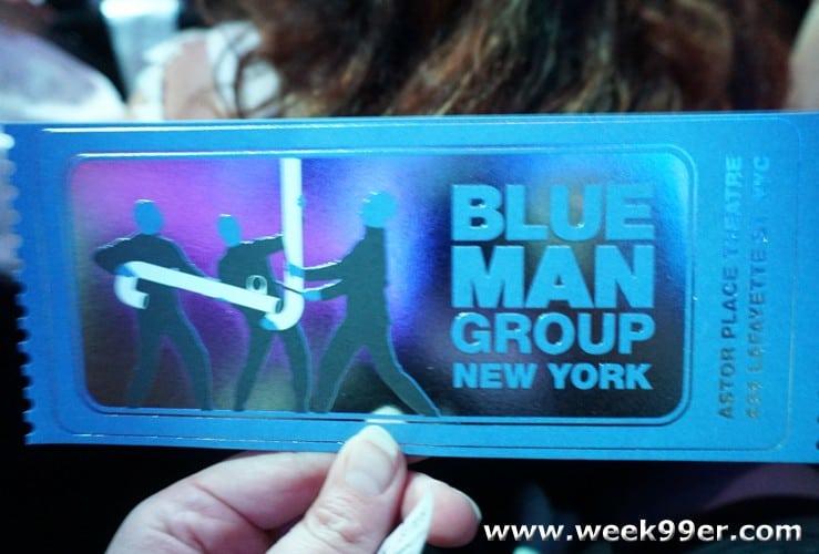 Blue Man Group Astor Place