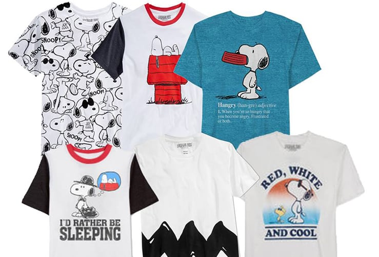 Snoopy T-Shirt Giveaway!