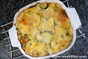 Squash and Garlic Scape Casserole Recipe