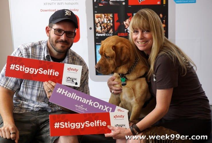 stiggys dog comcast event