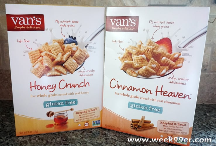 7fb9e1c0aa Introducing New Van s Gluten Free Cereal + Giveaway!