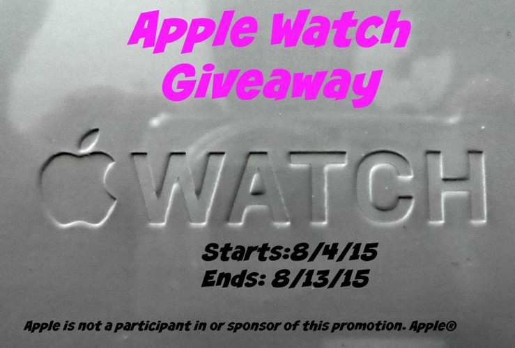 Lollipop and Lullaby Apple Watch Giveaway #lolliandlullaby